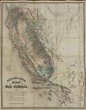 Britton & Rey's Map of the State of California.