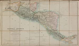 Map of Central America.