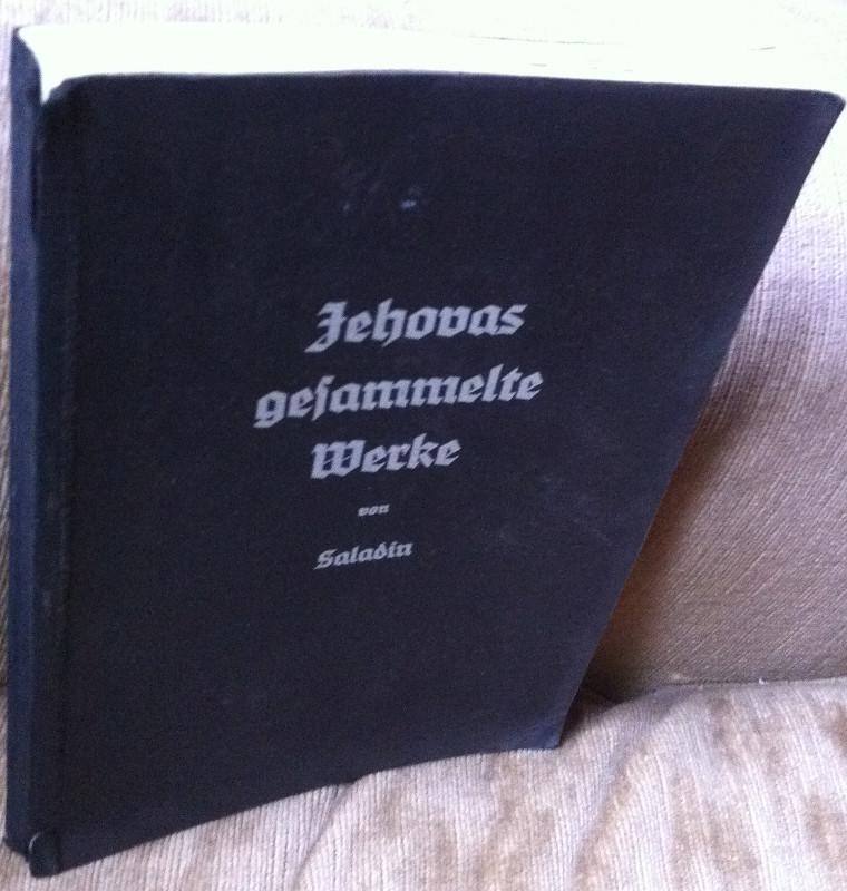 Jehovas gesammelte Werke: Saladin