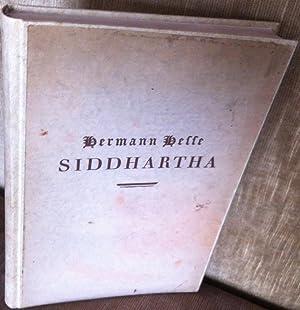 Siddhartha. Eine indische Dichtung: Hesse, Hermann