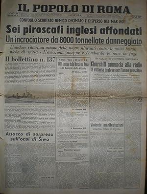 IL POPOLO DI ROMA MERCOLEDÍ 23 OTTOBRE