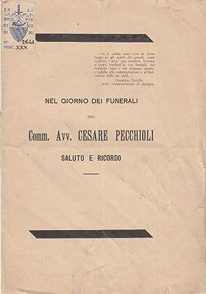 NEL GIORNO DEI FUNERALI DEL COMM. AVV.: CECCONI GIOVANNI (GENERALE)
