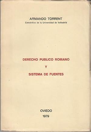 DERECHO PUBLICO ROMANO Y SISTEMA DE FUENTES: TORRENT ARMANDO