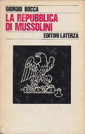 La repubblica di Mussolini: Bocca Giorgio