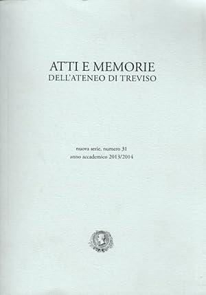 Atti e memorie dell'atenero di Treviso. Nuova