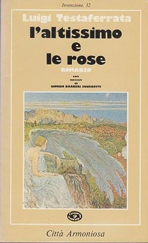 L'altissimo e le rose: Testaferrata Luigi