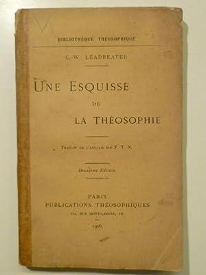 Une Esquisse de la Théosophie.: LEADBEATER Charles-Webster (Evêque