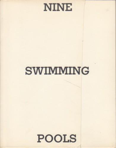 Nine Swimming Pools And A Broken Glass Signed By Edward Ruscha By Ruscha Edward Ruscha