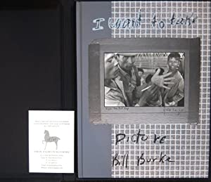 BILL BURKE: I WANT TO TAKE PICTURE - DELUXE BOXED, SIGNED LIMITED EDITION WITH A BLACK AND WHITE ...