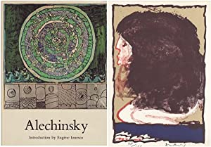 ALECHINSKY - WITH AN ORIGINAL SIGNED COLOR LITHOGRAPH