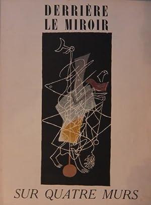 DERRIERE LE MIROIR (DLM) NO. 36-37-38 MARS - AVRIL - MAI 1953: SUR QUATRE MURS - WITH LITHOGRAPHS ...