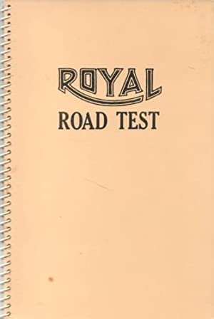 ROYAL ROAD TEST - A CHARMING SIGNED: RUSCHA, EDWARD). Ruscha,