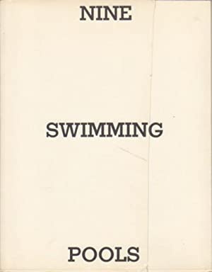 NINE SWIMMING POOLS (AND A BROKEN GLASS) - SIGNED BY EDWARD RUSCHA