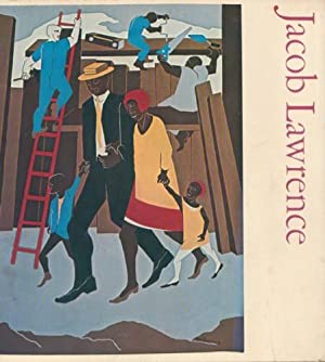 JACOB LAWRENCE - SIGNED BY THE ARTIST: LAWRENCE, JACOB). Brown,