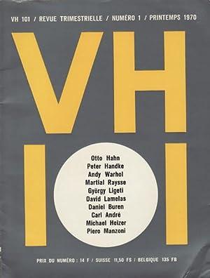 VH 101 / REVUE TRIMESTRIELLE / NUMERO 1 / PRINTEMPS 1970: VH 101). Essellier, ...