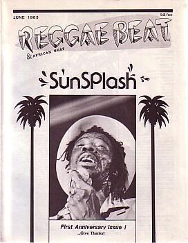 REGGAE BEAT AND AFRICAN BEAT: JUNE 1983: REGGAE BEAT AND