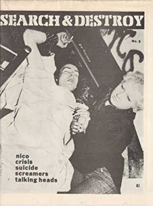 SEARCH & DESTROY (NEW WAVE CULTURAL RESEARCH) NO. 5 - 1978