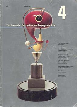 THE JOURNAL OF DECORATIVE AND PROPAGANDA ARTS: 4 - SPRING 1987