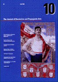 THE JOURNAL OF DECORATIVE AND PROPAGANDA ARTS: 10 - FALL 1988