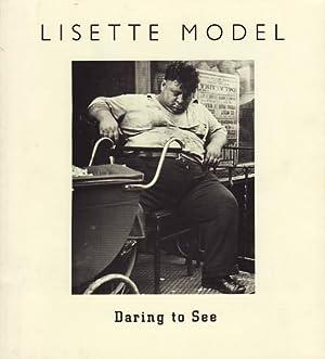 LISETTE MODEL: DARING TO SEE: MODEL, LISETTE). Dooley,