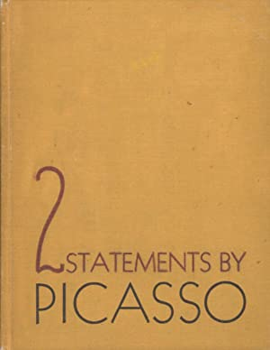 PABLO PICASSO: 2 STATEMENTS BY THE ARTIST, ALSO A COMMENT BY MERLE ARMITAGE - LIMITED EDITION WIT...
