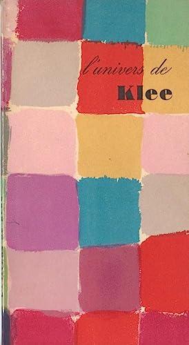 L'UNIVERS DE KLEE: KLEE, PAUL). Klee,