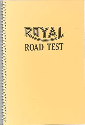 ROYAL ROAD TEST - SIGNED BY EDWARD: RUSCHA, EDWARD). Ruscha,