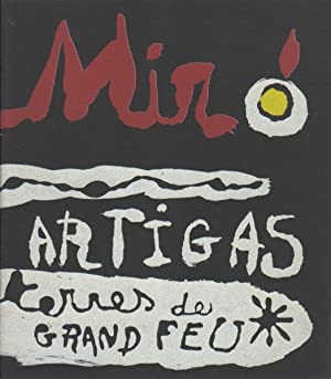 SCULPTURE IN CERAMIC BY MIRO AND ARTIGAS - WITH TWO ORIGINAL LITHOGRAPHS