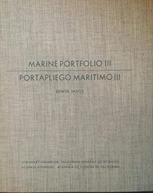 EDWIN JANSS: MARINE PORTFOLIO III - SIXTEEN COLOR STUDIES FROM THE WATERS OF WESTERN MEXICO / POR...