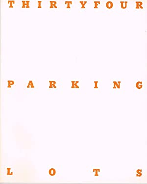 THIRTYFOUR PARKING LOTS IN LOS ANGELES - SIGNED BY ED RUSCHA