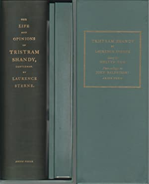 THE LIFE AND OPINIONS OF TRISTRAM SHANDY, GENTLEMAN - DELUXE LIMITED ARION PRESS EDITION ILLUSTRA...