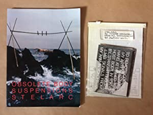 STELARC: OBSOLETE BODY SUSPENSIONS WITH A GROUP OF TWENTY-SIX POSTCARDS SELF-PUBLISHED BY THE ARTIST