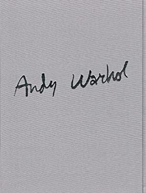ANDY WARHOL 1983 / 1984 - WITH AN ORIGINAL COLOR SILKSCREEN PRINT BOUND IN