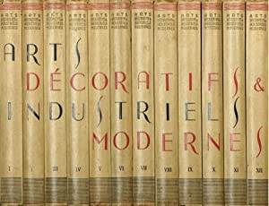 ENCYCLOPEDIE DES ARTS DECORATIFS ET INDUSTRIELS MODERNES AU XXEME SIECLE, VERS 1925 - COMPLETE IN...