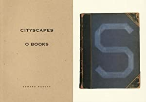 EDWARD RUSCHA: CITYSCAPES / O BOOKS + S BOOKS - TWO VOLUMES