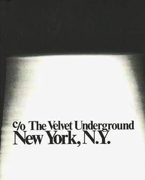 C/O THE VELVET UNDERGROUND, NEW YORK, N.Y.: WARHOL, ANDY) (VELVET