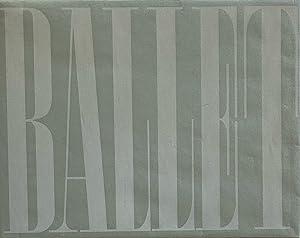 BALLET: 104 PHOTOGRAPHS BY ALEXEY BRODOVITCH: BRODOVITCH, ALEXEY). Brodovitch,