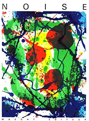 NOISE NUMERO 10 - WITH A COLOR LITHOGRAPHIC COVER BY SAM FRANCIS