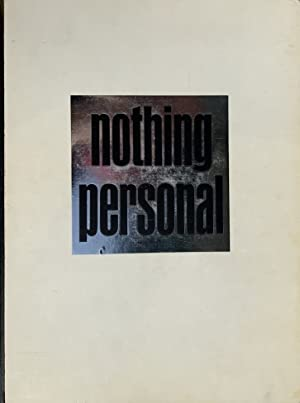 NOTHING PERSONAL - SIGNED PRESENTATION COPY FROM RICHARD AVEDON