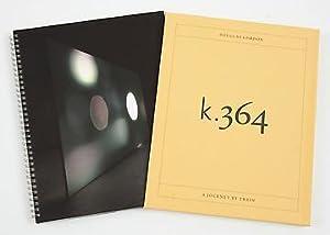 DOUGLAS GORDON: K.364 (A JOURNEY BY TRAIN): GORDON, DOUGLAS). Gordon, Douglas & Michael Berkeley