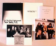 C/O THE VELVET UNDERGROUND, NEW YORK, N.Y. - DELUXE EDITION LIMITED TO ONE HUNDRED COPIES