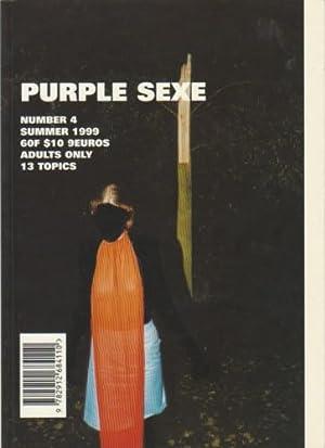 PURPLE SEXE: NUMBER 4 (SUMMER 1999): PURPLE SEXE). Zahm, Olivier & Katja Rahlwes, Editors