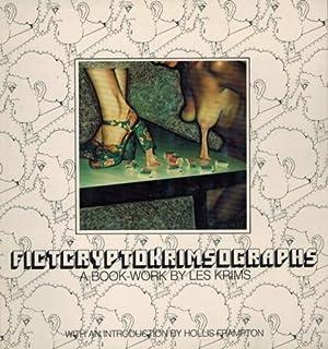 FICTCRYPTOKRIMSOGRAPHS: A BOOK WORK BY LES KRIMS: KRIMS, LES). Krims,