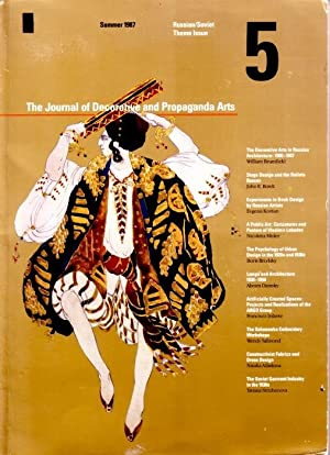 THE JOURNAL OF DECORATIVE AND PROPAGANDA ARTS: 5 - SUMMER 1987: RUSSIAN/SOVIET THEME ISSUE