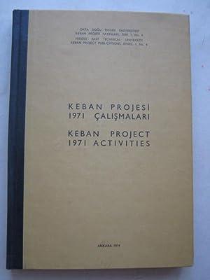 Keban Project 1971 Activities :Series I, No: Pekman, Sevim ;(ed)