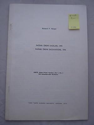 Pagnik Oreni Kazilari, 1970 / Pagnik Oreni: Harper, Richard P.