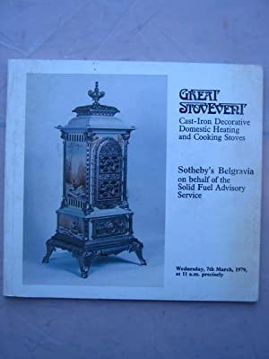 Great Stovevent :Cast-Iron Decorative Domestic Heating and: Sotheby ;
