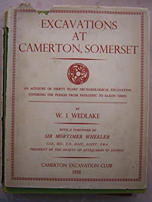 Excavations at Camerton Somerset :A record of: Wedlake, W. J.
