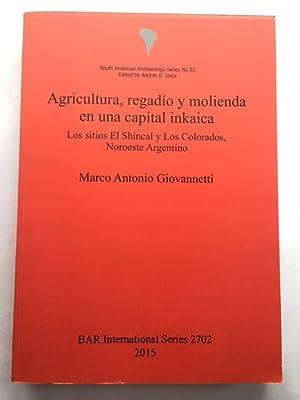 Agricultura, regadio y molienda en una capital: Giovannetti, Marco Antonio