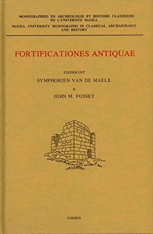 FORTIFICATIONES ANTIQUAE, (including the papers of a: Van de Maele,